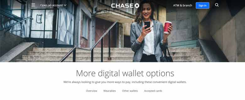 Chase Digital Wallet